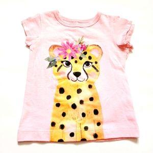 3M Leopard T-shirt Floral CARTER'S